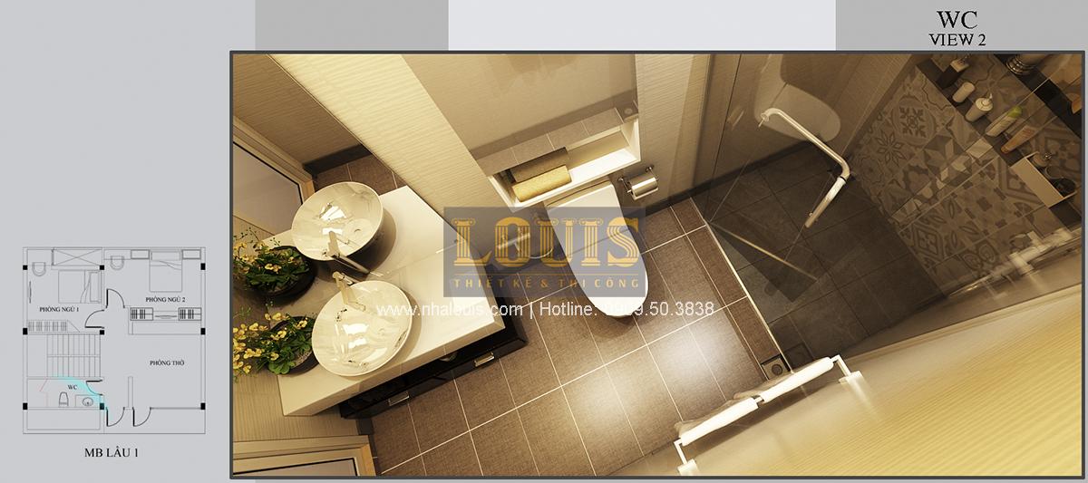 Thiết kế biệt thự mini 2 tầng tại Bình Dương phong cách hiện đại tinh tế - 13