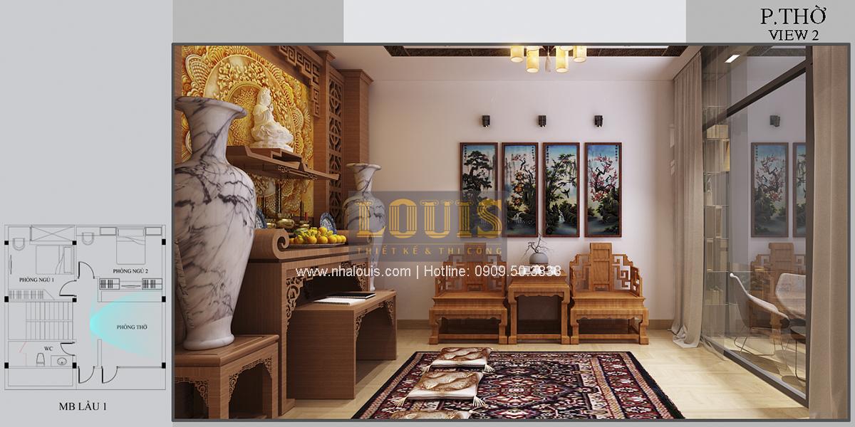 Thiết kế biệt thự mini 2 tầng tại Bình Dương phong cách hiện đại tinh tế - 15