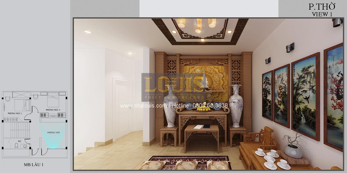 Thiết kế biệt thự mini 2 tầng tại Bình Dương phong cách hiện đại tinh tế - 16