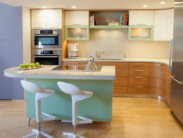 Bếp hiện đại cho không gian nấu nướng tiện nghi
