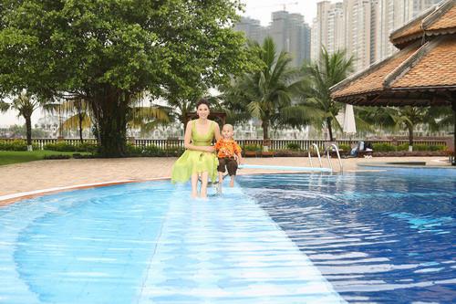 Chiêm ngưỡng biệt thự 400 tỷ của hoa hậu Hà Kiều Anh