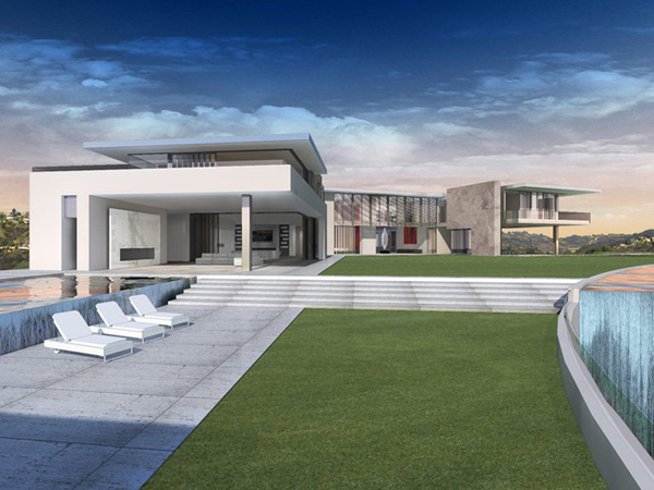 Choáng với vẻ đẹp của biệt thự siêu hiện đại 500 triệu đô