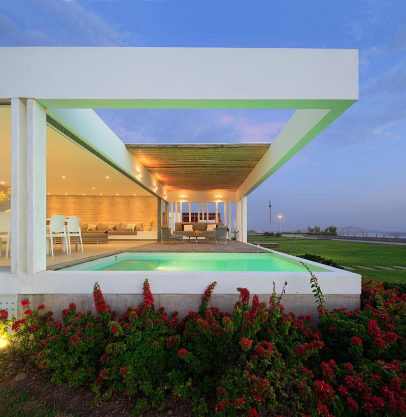 Ngắm nhìn biệt thự hiện đại tuyệt đẹp ở Peru