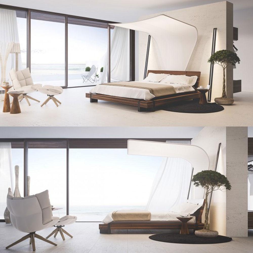 Những không gian phòng ngủ chỉ nhìn cũng đủ xuyến xao