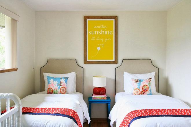 Những phòng ngủ càng nhìn càng thấy bừng sức sống