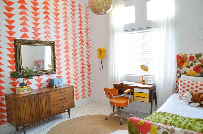Những phòng ngủ tươi sắc cho một ngày mới tràn năng lượng