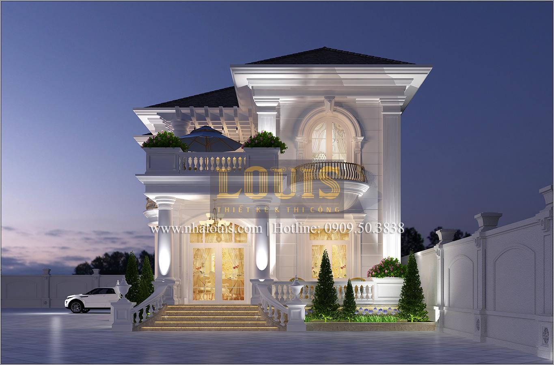 Thiết kế biệt thự cổ điển 2 tầng ở Bình Dương đẹp trang nhã và sang trọng - 01