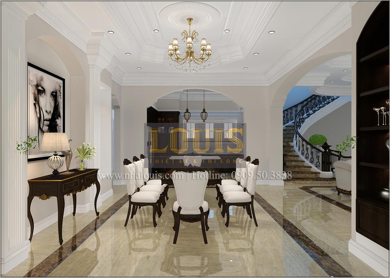 Thiết kế biệt thự cổ điển 2 tầng ở Bình Dương đẹp trang nhã và sang trọng - 04