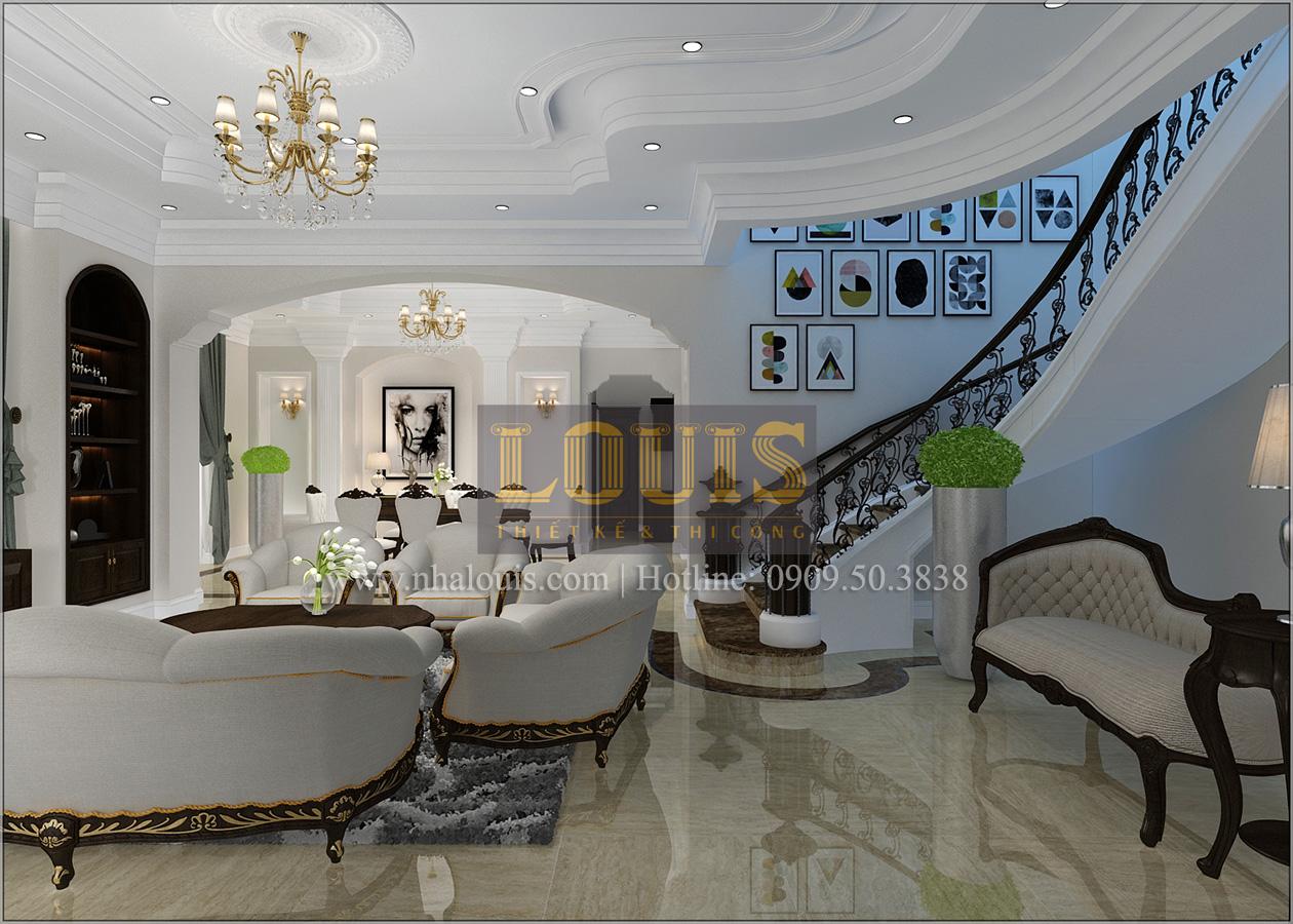 Thiết kế biệt thự cổ điển 2 tầng ở Bình Dương đẹp trang nhã và sang trọng - 06