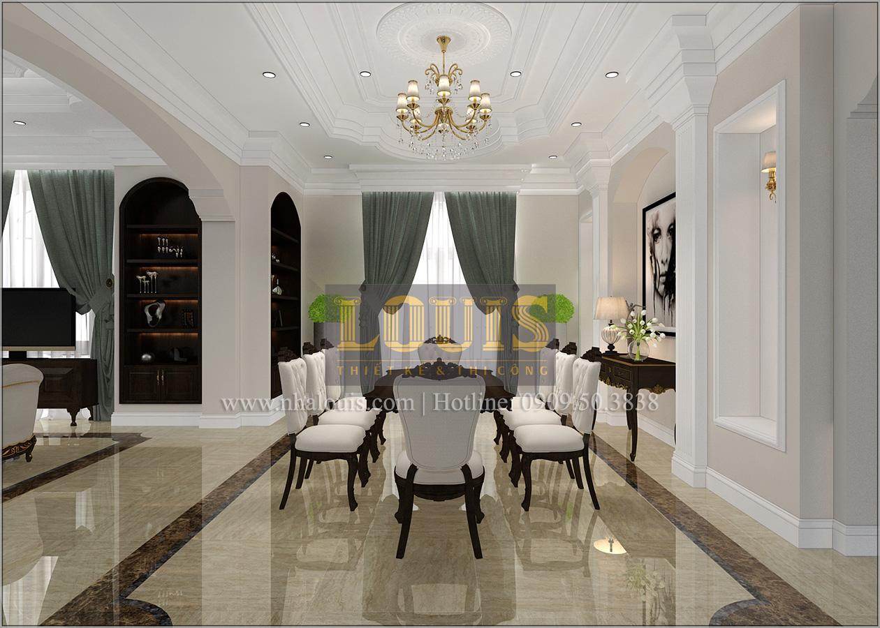 Thiết kế biệt thự cổ điển 2 tầng ở Bình Dương đẹp trang nhã và sang trọng - 08