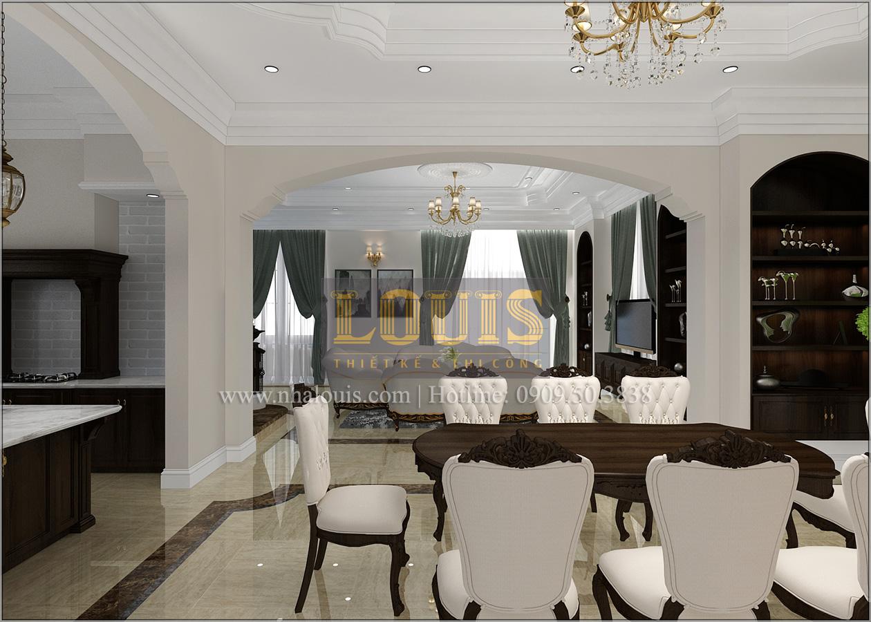 Thiết kế biệt thự cổ điển 2 tầng ở Bình Dương đẹp trang nhã và sang trọng - 09