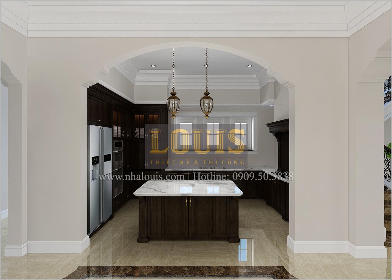 Thiết kế biệt thự cổ điển 2 tầng ở Bình Dương đẹp trang nhã và sang trọng - 12