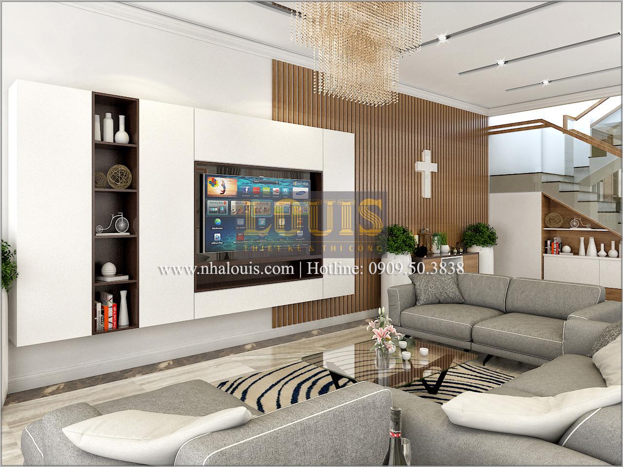 Thiết kế biệt thự cổ điển kết hợp kinh doanh tại Đồng Nai diễm lệ và kiêu sa - 07