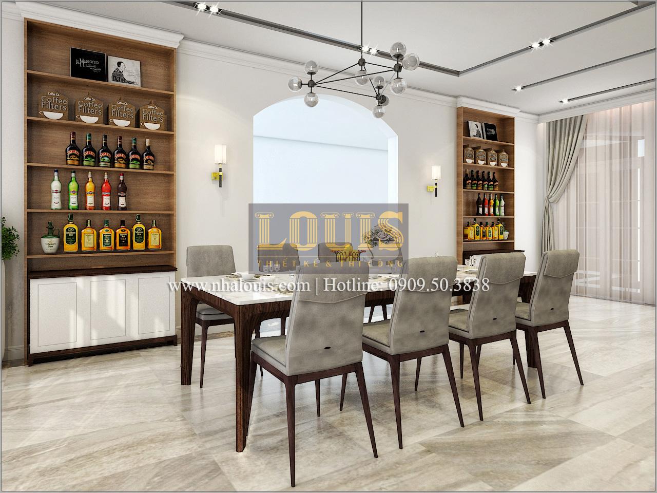 Thiết kế biệt thự cổ điển kết hợp kinh doanh tại Đồng Nai diễm lệ và kiêu sa - 14