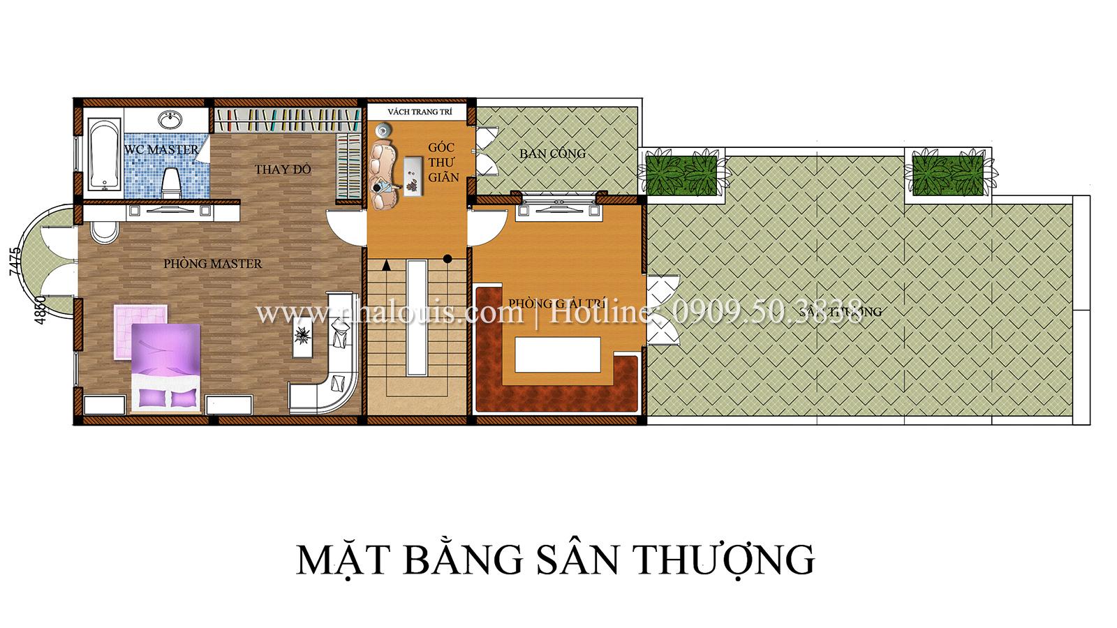 Thiết kế biệt thự cổ điển kết hợp kinh doanh tại Đồng Nai diễm lệ và kiêu sa - 26
