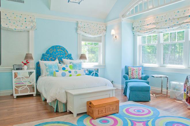 Trang trí phòng ngủ dễ thương càng nhìn càng thấy bừng sức sống