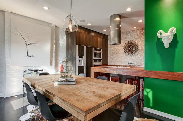 Hé lộ những thiết kế nhà bếp đẹp với tường màu trắng