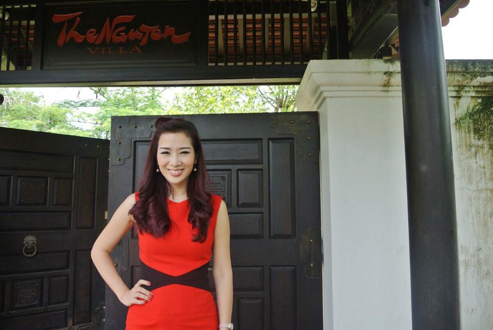 Ngất ngây với biệt thự triệu đô của Á hậu quý bà Thu Hương