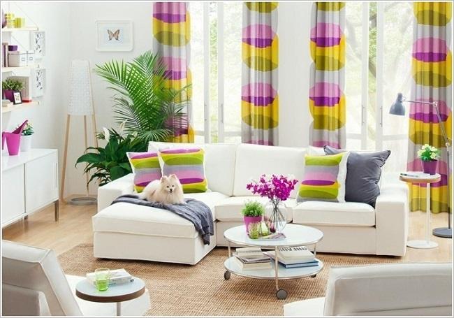 Phòng khách phong cách Retro đẹp mê hoặc lòng người