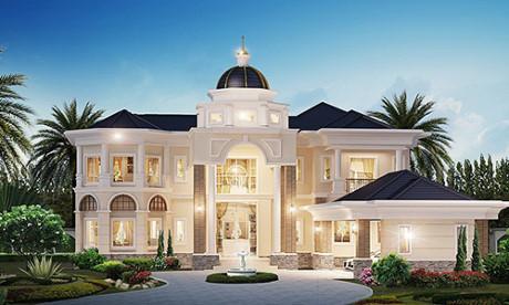 Top 10 thiết kế biệt thự kiểu Thái sang trọng, tinh tế