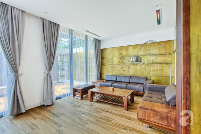 Khám phá căn biệt thự mang không gian xanh mát ở Hà Nội