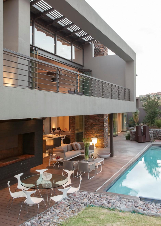 Ngắm biệt thự 2 tầng đẹp lộng lẫy ở Nam Phi