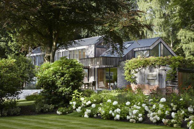 Ngắm nhìn ngôi biệt thự trong rừng cực chất ở Hampshire - 01