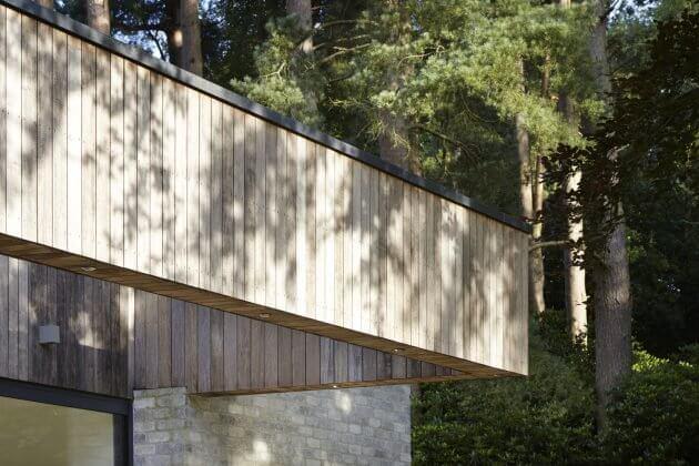 Ngắm nhìn ngôi biệt thự trong rừng cực chất ở Hampshire - 09