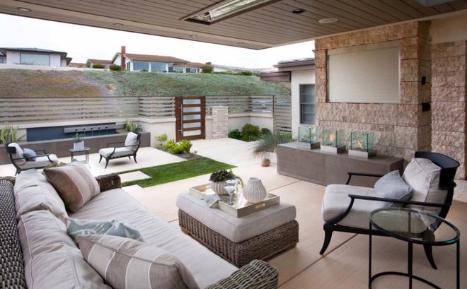 Thiết kế phòng khách ngoài trời cho cuộc sống gia đình thêm thi vị - 01