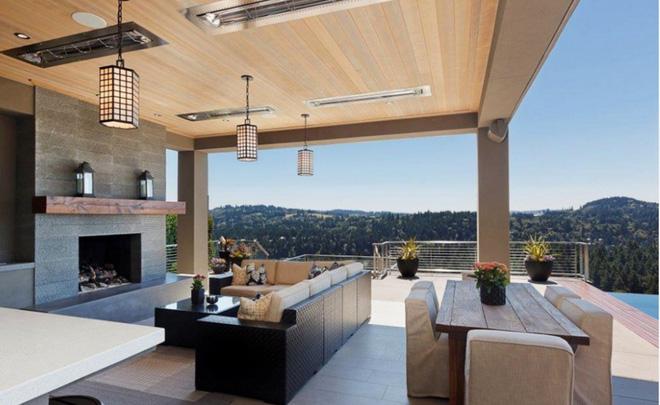 Thiết kế phòng khách ngoài trời cho cuộc sống gia đình thêm thi vị - 02