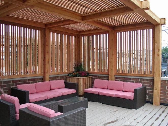 Thiết kế phòng khách ngoài trời cho cuộc sống gia đình thêm thi vị - 06