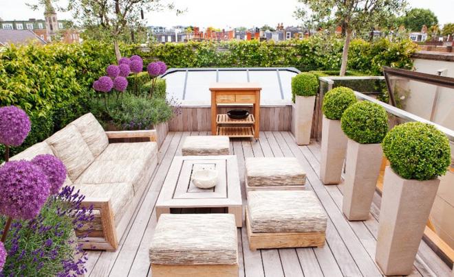 Thiết kế phòng khách ngoài trời cho cuộc sống gia đình thêm thi vị - 10