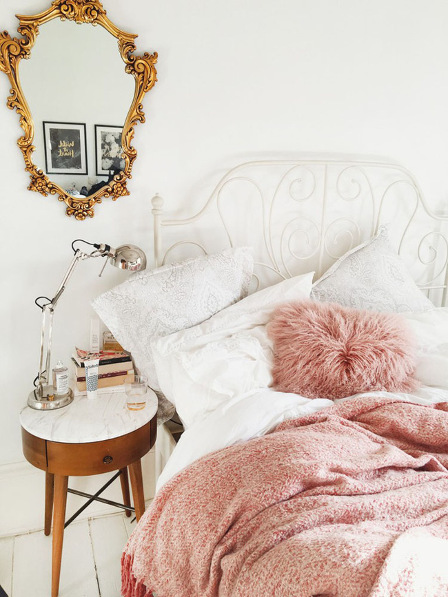 Phòng ngủ con gái xinh như thế này ai mà không thích - 04