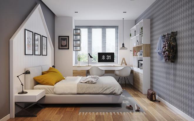 Sức hút đến từ những không gian phòng ngủ hiện đại đẹp
