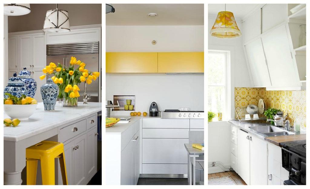 Thiết kế phòng bếp màu vàng chanh nổi bật ấn tượng - 01
