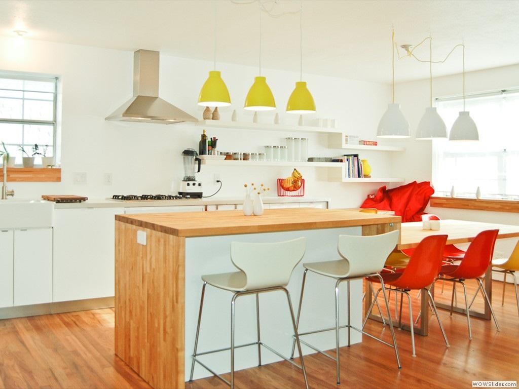 Thiết kế phòng bếp màu vàng chanh nổi bật ấn tượng - 14