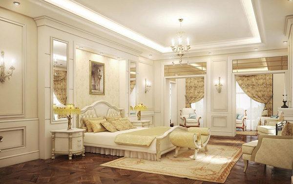15 mẫu thiết kế phòng ngủ kiểu Pháp chuẩn tinh tế và lãng mạn - 03