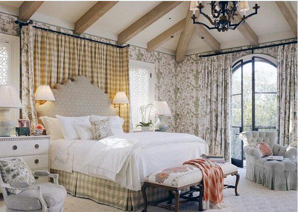 15 mẫu thiết kế phòng ngủ kiểu Pháp chuẩn tinh tế và lãng mạn - 06