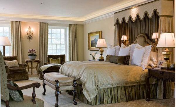 15 mẫu thiết kế phòng ngủ kiểu Pháp chuẩn tinh tế và lãng mạn - 07
