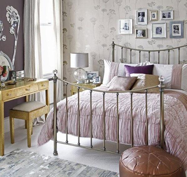15 mẫu thiết kế phòng ngủ kiểu Pháp chuẩn tinh tế và lãng mạn - 08