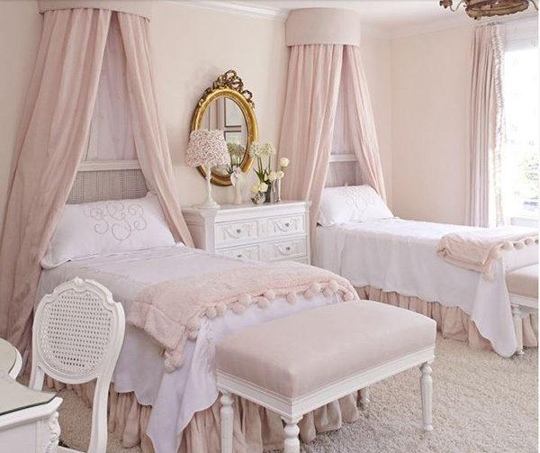 15 mẫu thiết kế phòng ngủ kiểu Pháp chuẩn tinh tế và lãng mạn - 09