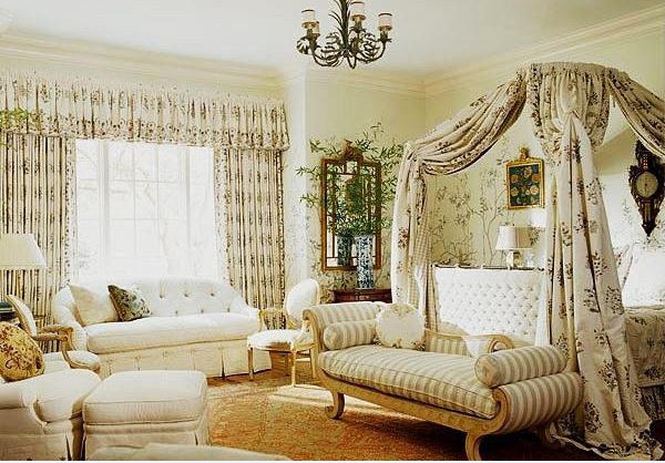 15 mẫu thiết kế phòng ngủ kiểu Pháp chuẩn tinh tế và lãng mạn - 10