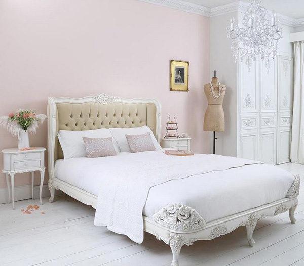 15 mẫu thiết kế phòng ngủ kiểu Pháp chuẩn tinh tế và lãng mạn - 12