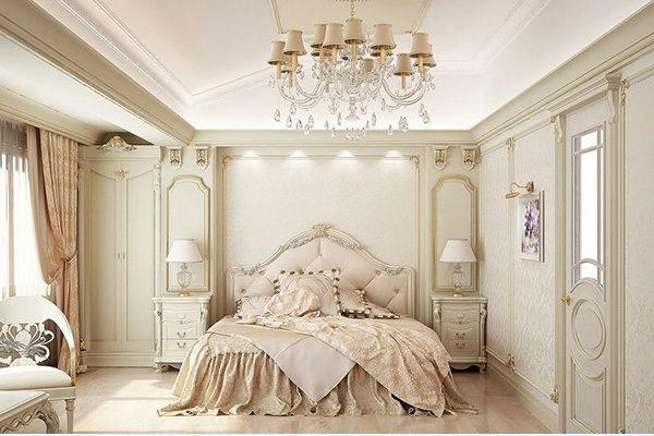 15 mẫu thiết kế phòng ngủ kiểu Pháp chuẩn tinh tế và lãng mạn - 13
