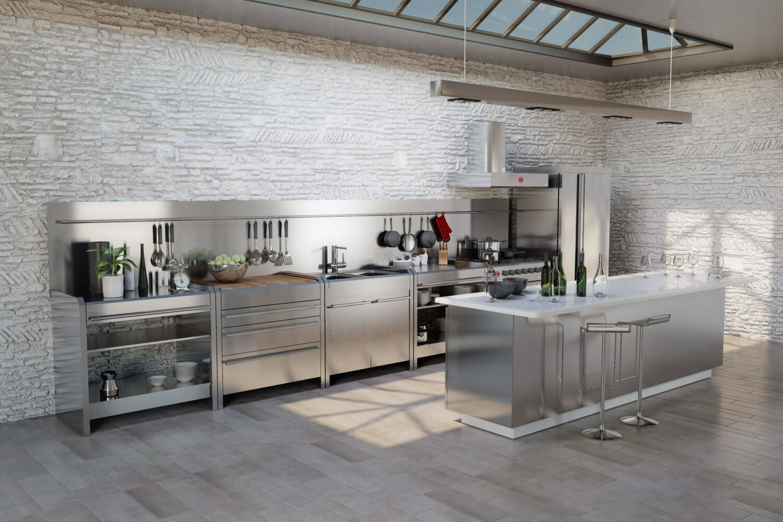 8 mẫu thiết kế tủ bếp theo phong cách hiện đại và tinh tế cho biệt thự