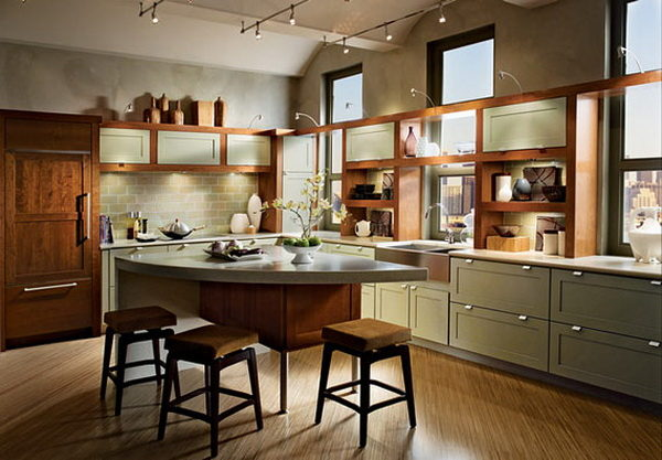 8 mẫu thiết kế tủ bếp theo phong cách hiện đại và tinh tế - 17