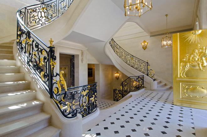 Biệt thự cổ điển châu Âu dát vàng đắt giá nhất hành tinh - 08