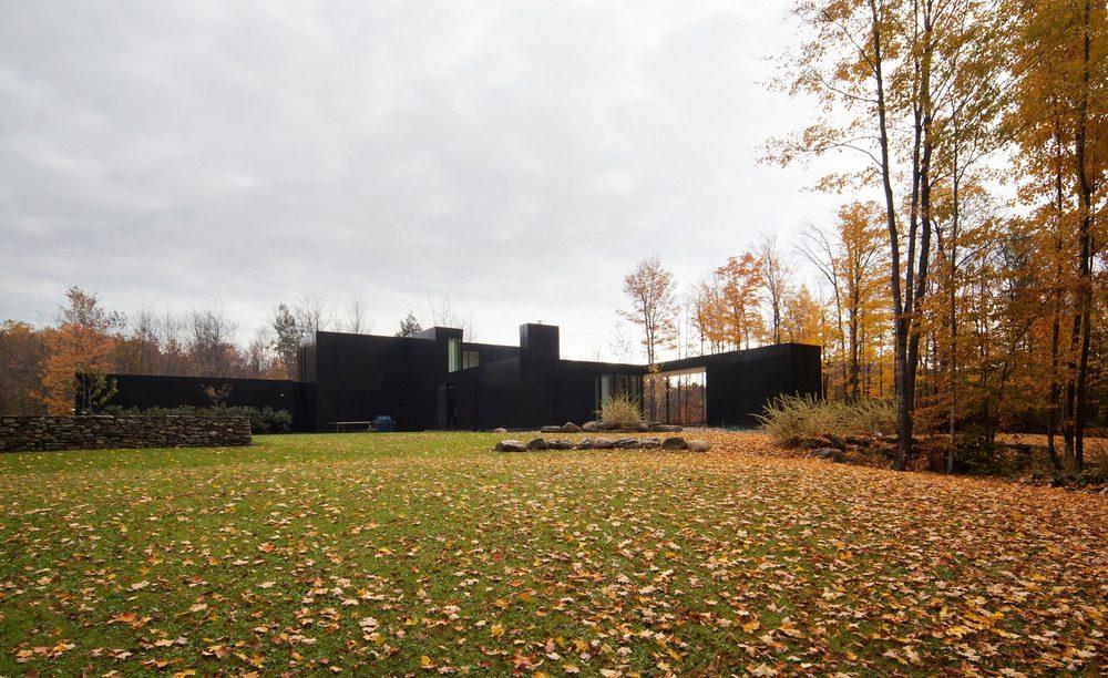 Biệt thự nghỉ dưỡng hiện đại tại Canada - Rosenberry Residence - 02