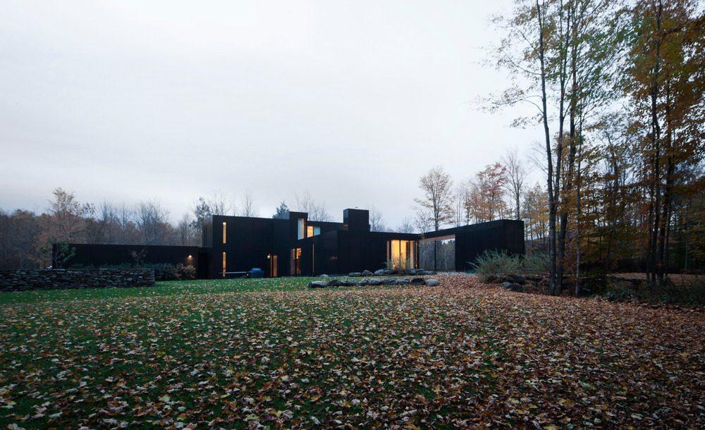 Biệt thự nghỉ dưỡng hiện đại tại Canada - Rosenberry Residence - 03