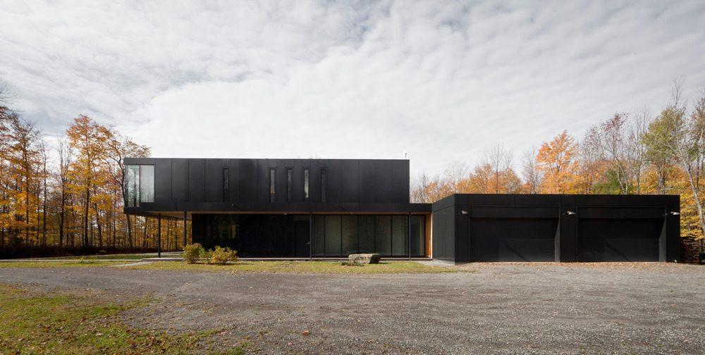 Biệt thự nghỉ dưỡng hiện đại tại Canada - Rosenberry Residence - 04